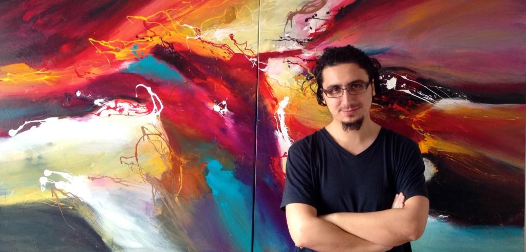 Pictura abstracta Bucuresti - Pictor Dan Bunea